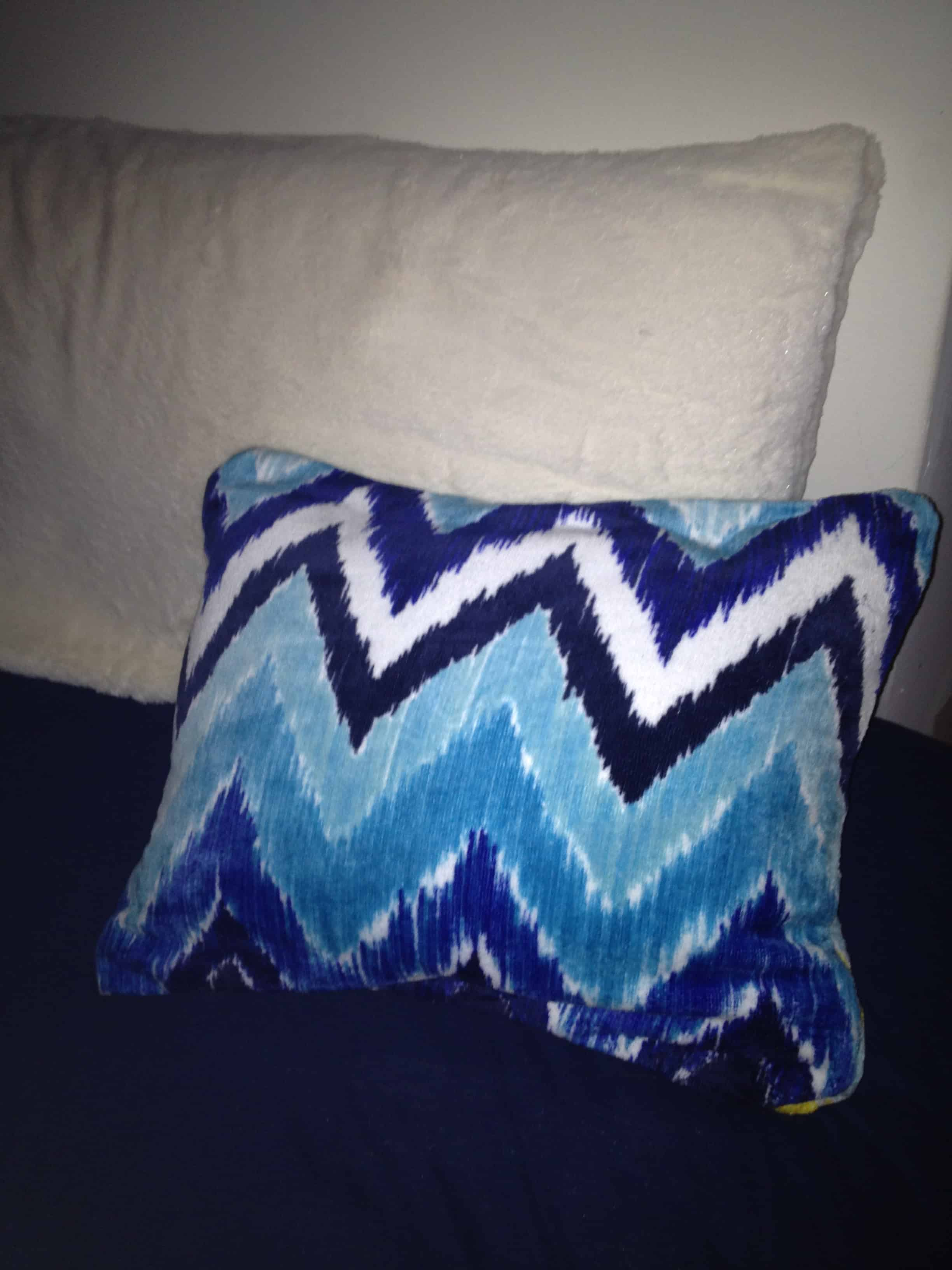 Easy No Sew Towel Pillow Tutorial