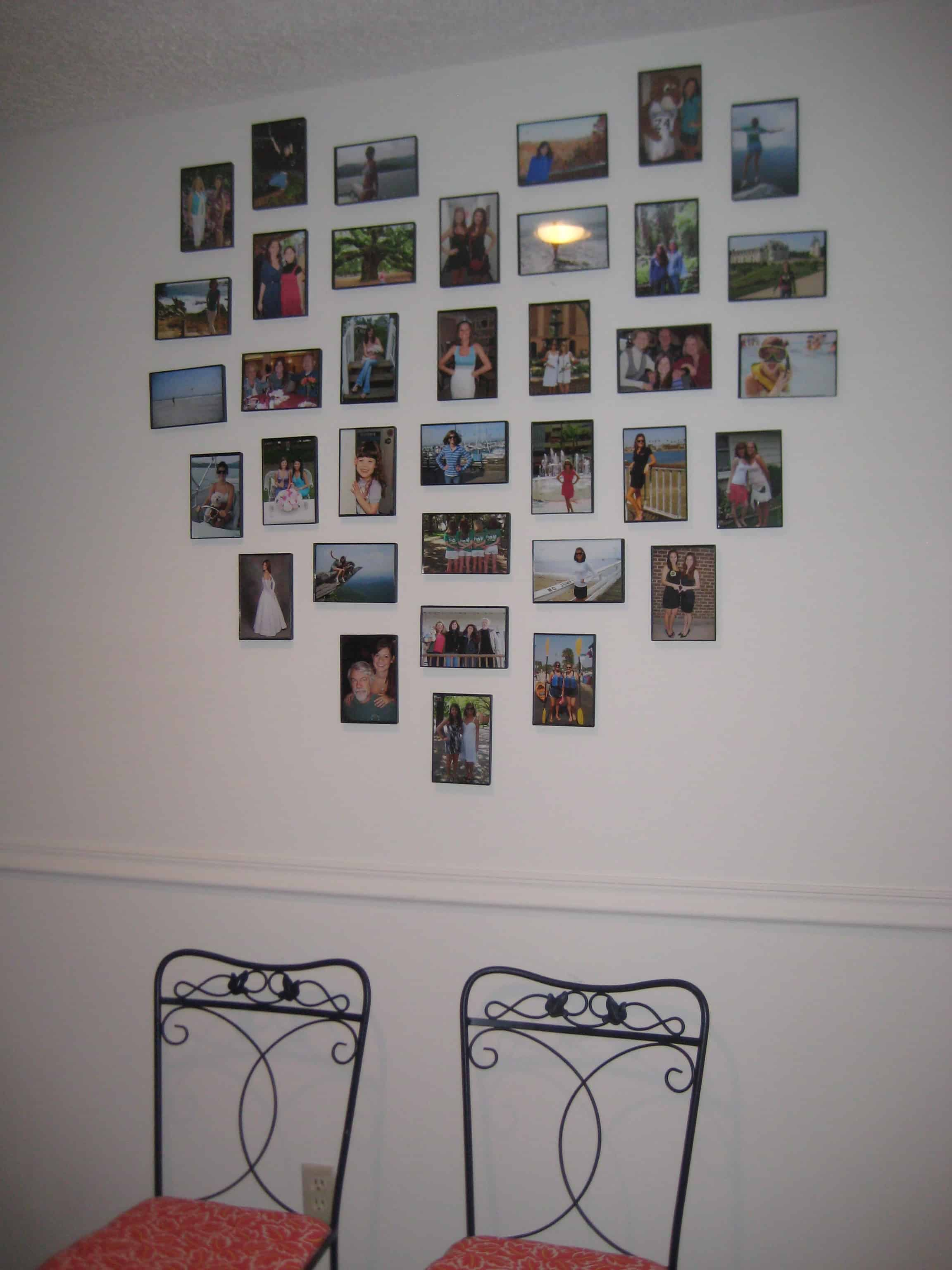 Heart Frame Gallery Wall - Charleston Crafted