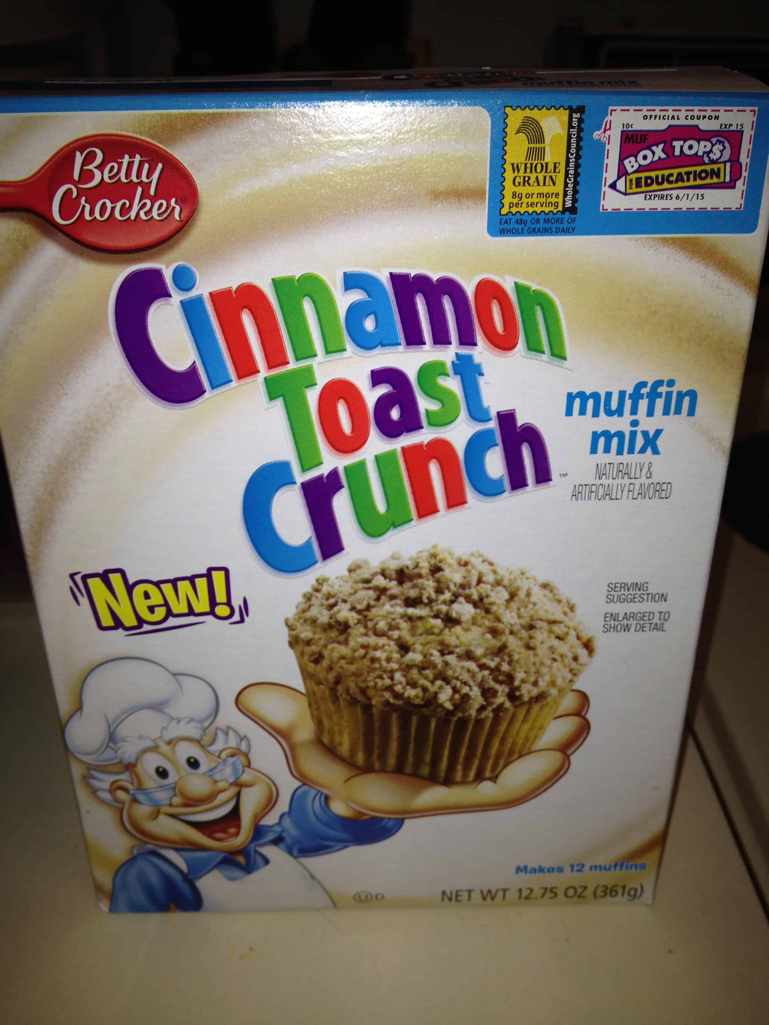 Eat it or Beat it- Cinnamon Toast Crunch Muffins