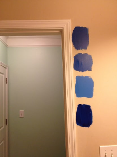 Painting my Final Room- the Guest Bath!