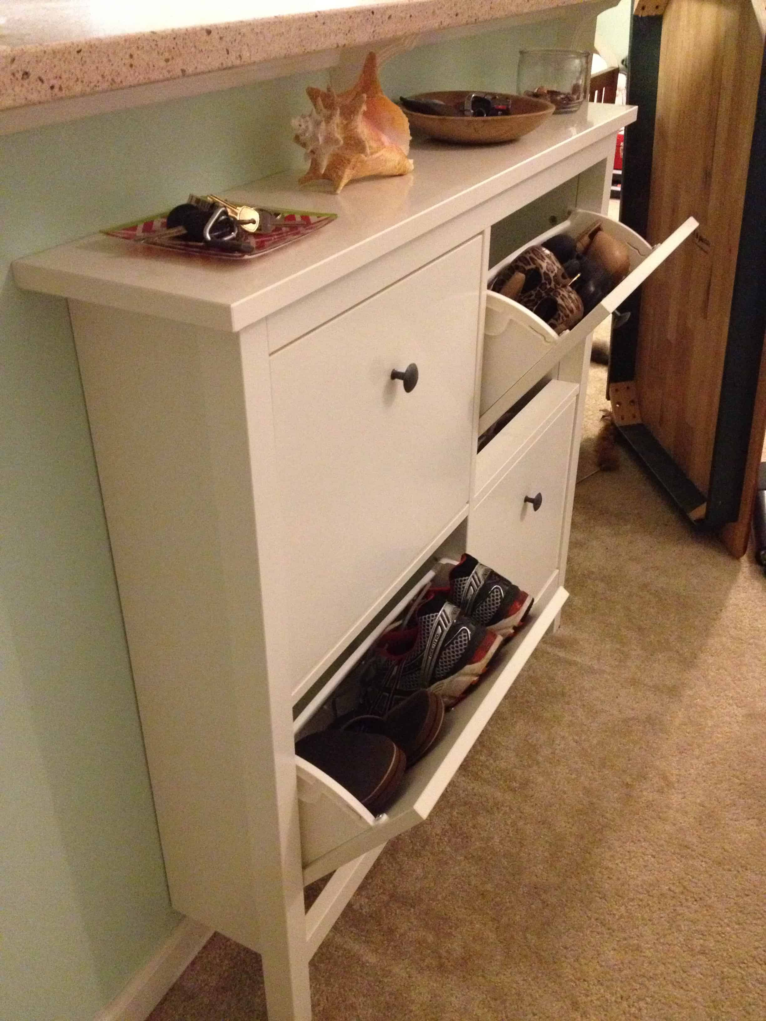 for a slim shoe cabinet