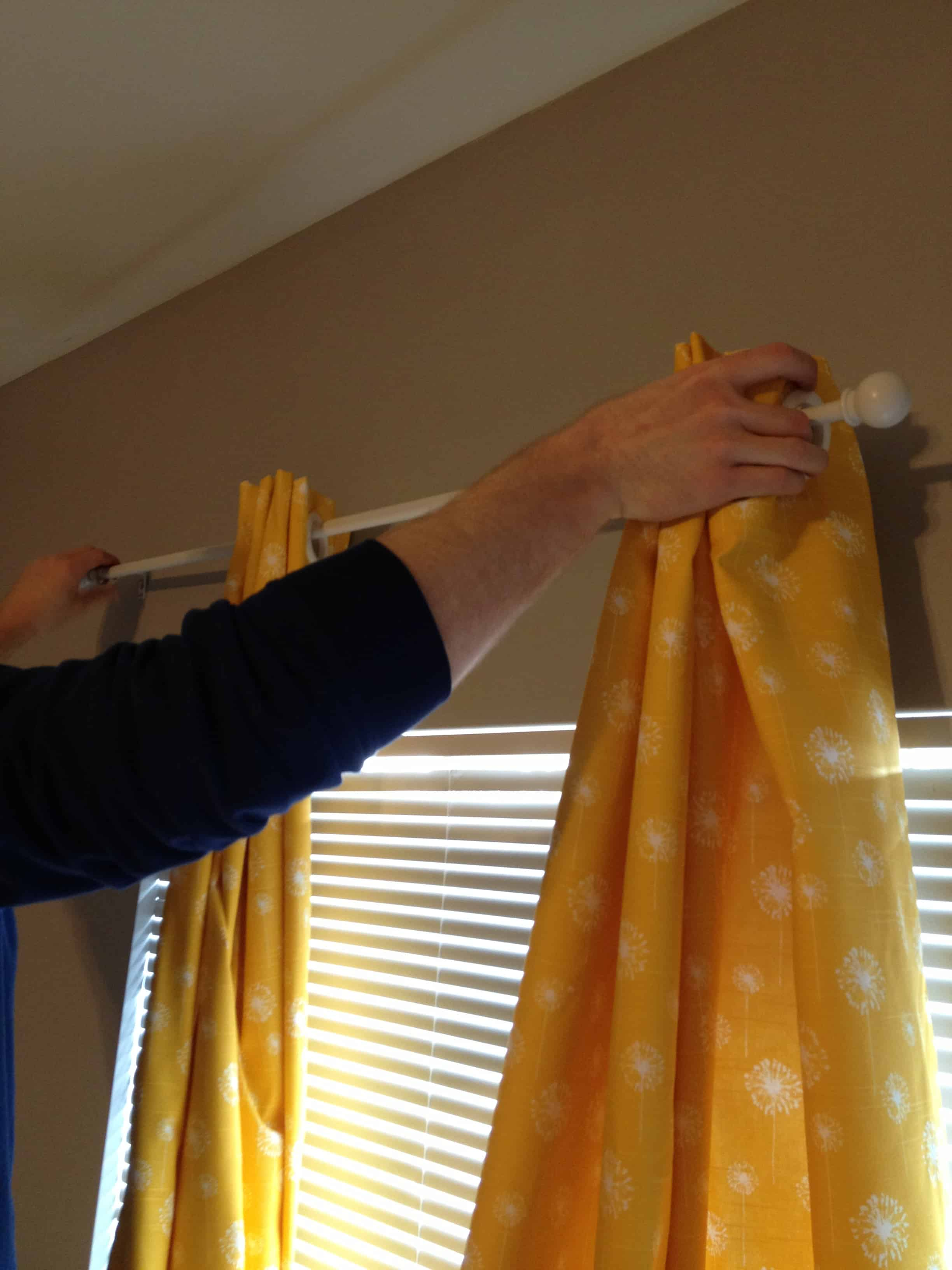 How to Make No Sew Black Out Curtains