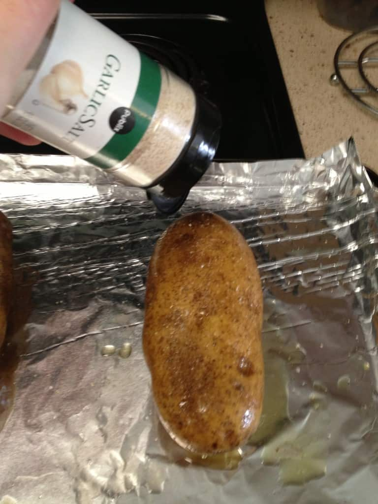 Baked Potatoes with Delicious Skins - Charleston Crafted