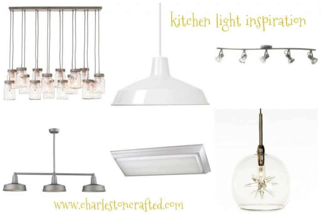 kitchen light collage