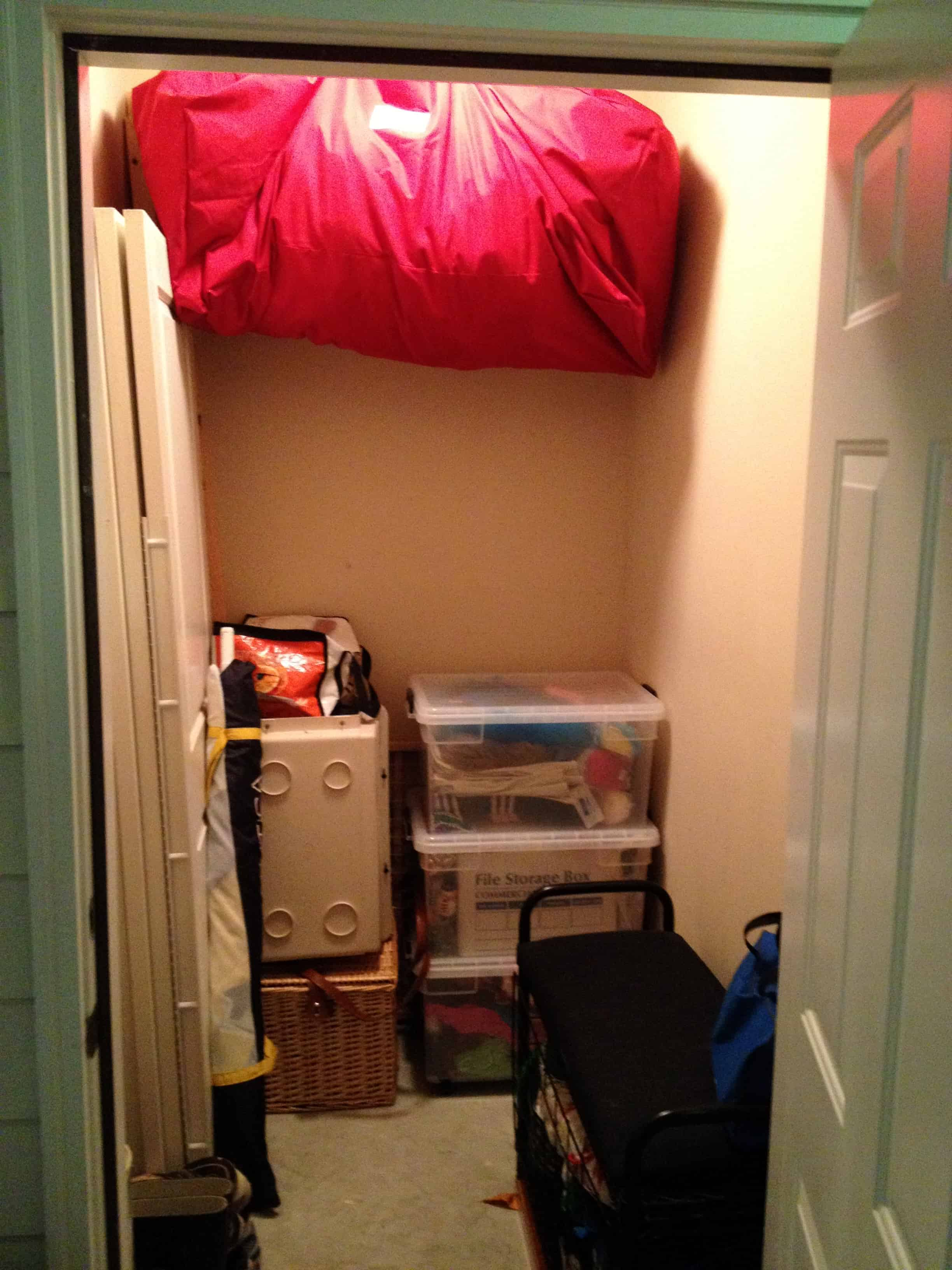 Storage Closet Organization - Charleston Crafted