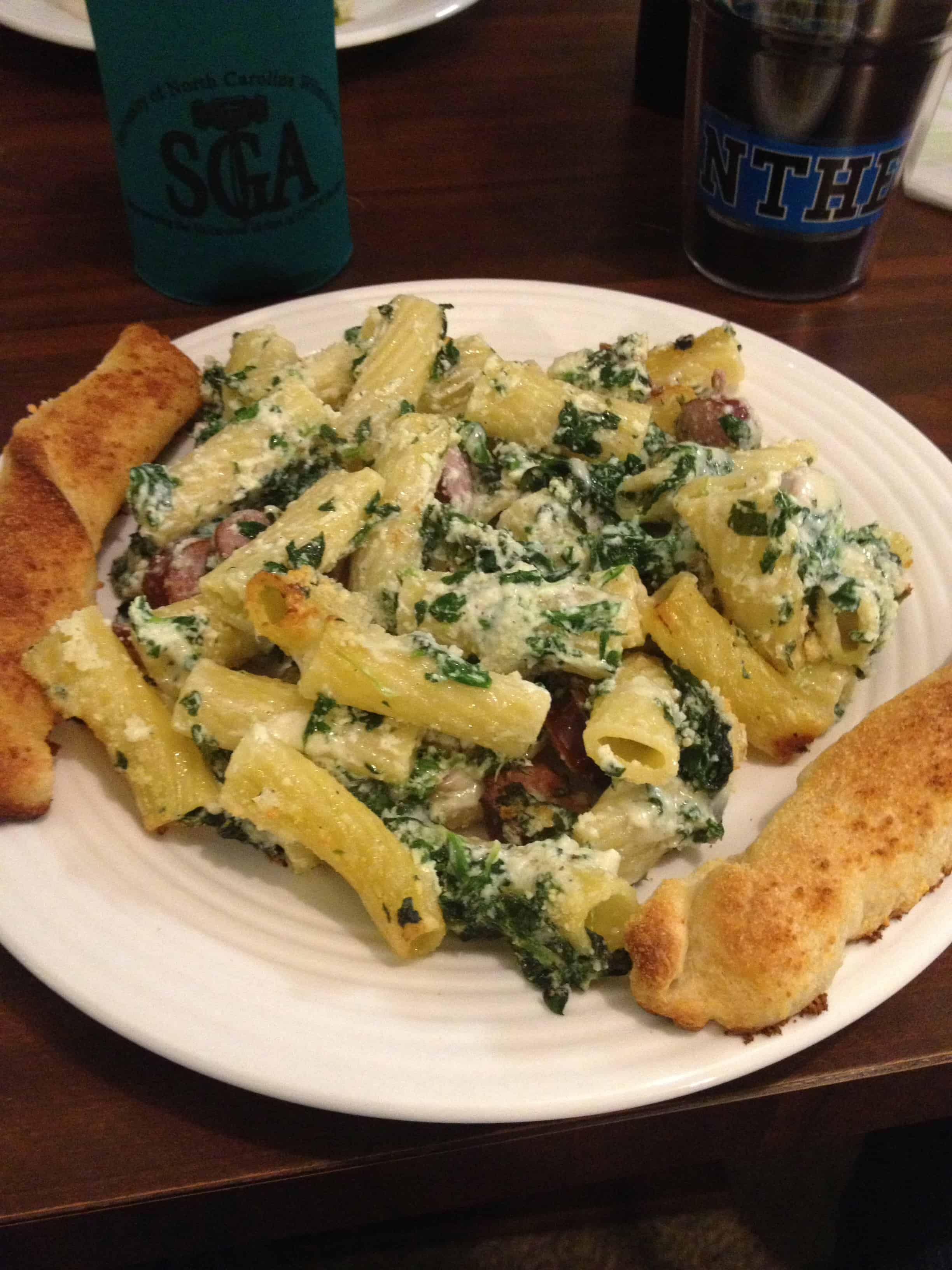 Pasta With Butternut Sauce Spicy Sausage And Baby Spinach # | 2016 Car ...