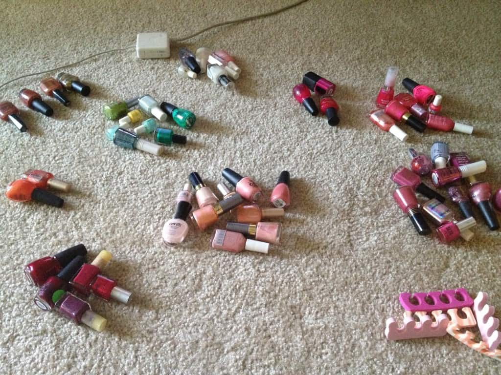 Sorting Nail Polish - charleston crafted