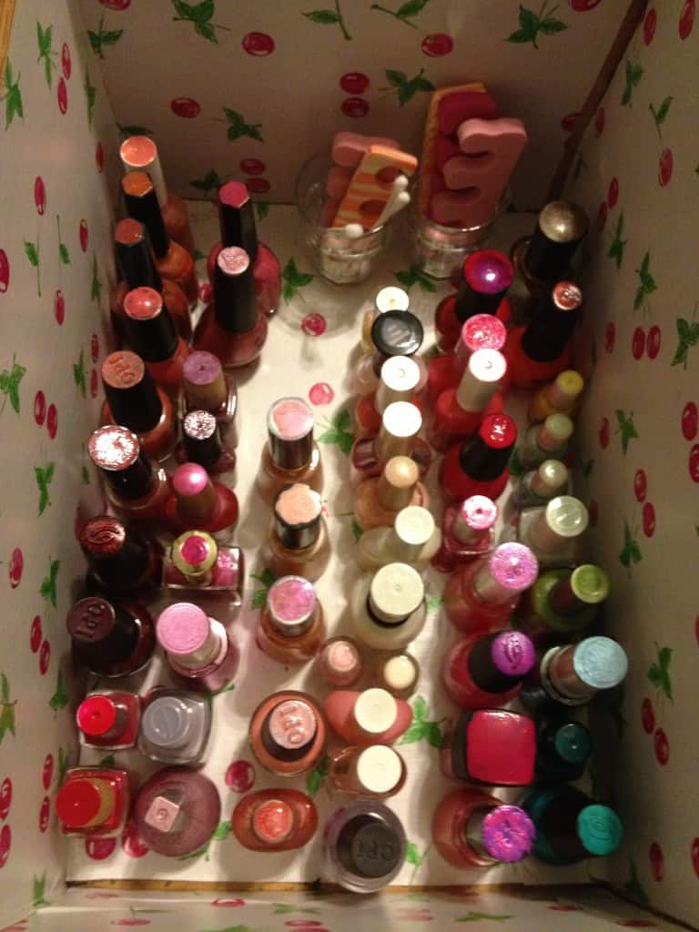 Nail Polish Organization - After - Charleston Crafted