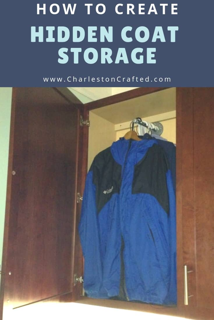 how to create hidden coat storage