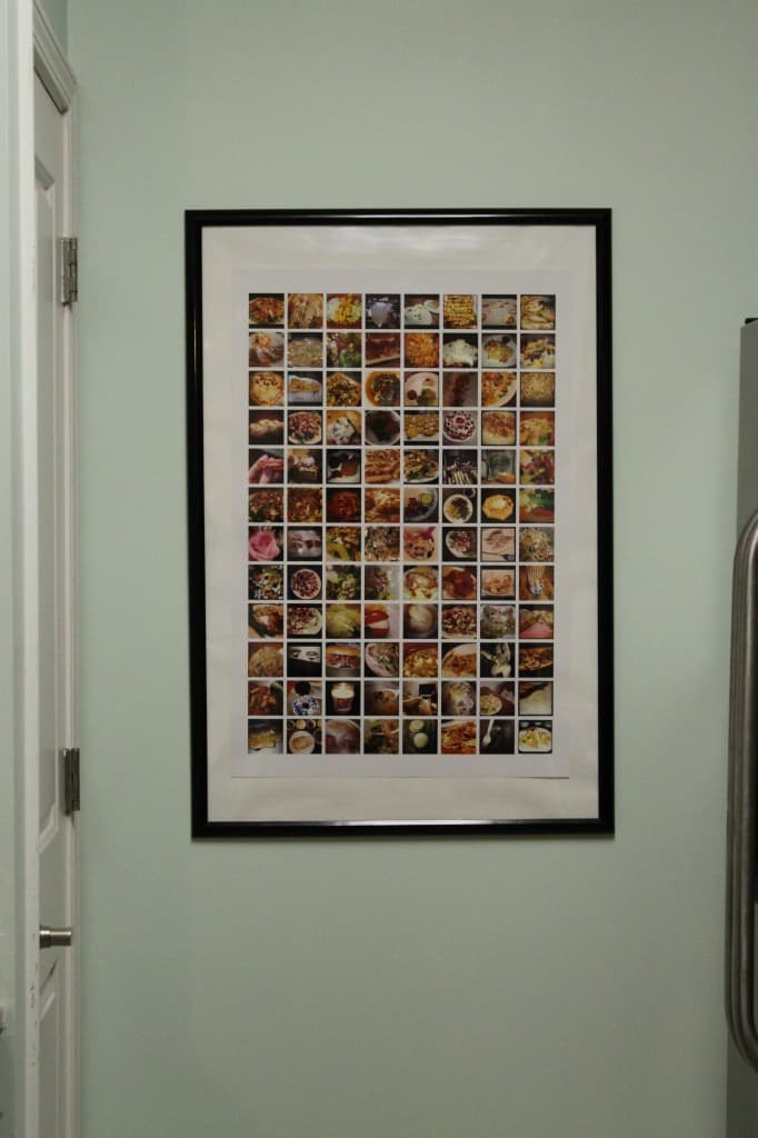 Instagram Photo Collage for the Kitchen - Charleston Crafted
