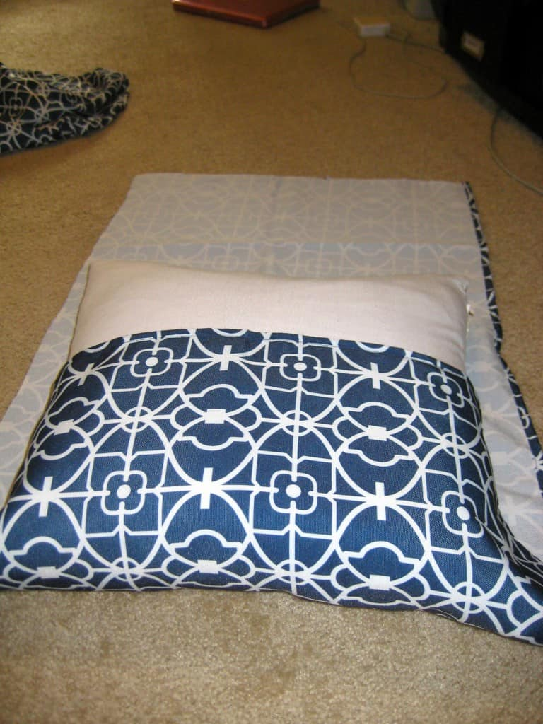 Easy Peasy No-Sew Pillow