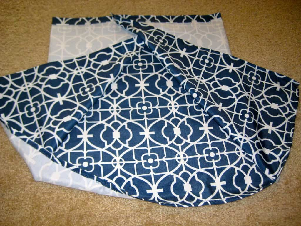 envelope style no sew pillow covers