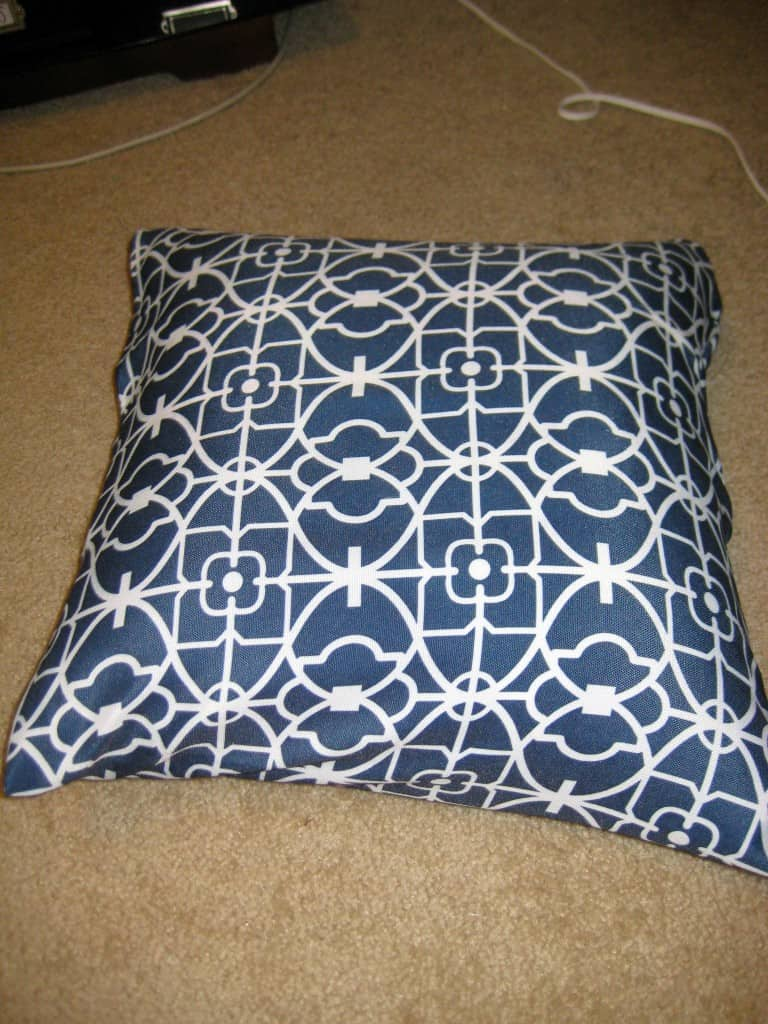 How To Sew Pillow Cover
