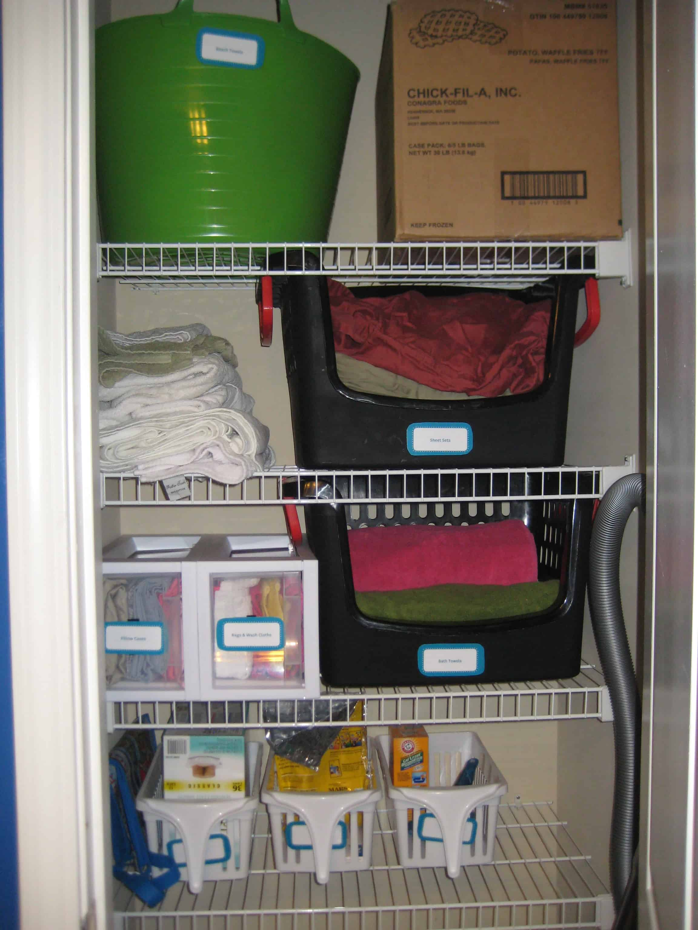A Place for Everything (In the Linen Closet)