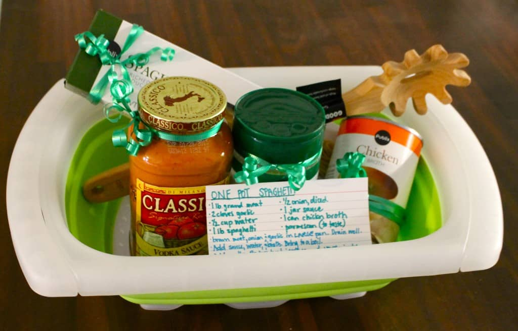 Spaghetti Shower Gift - Charleston Crafted