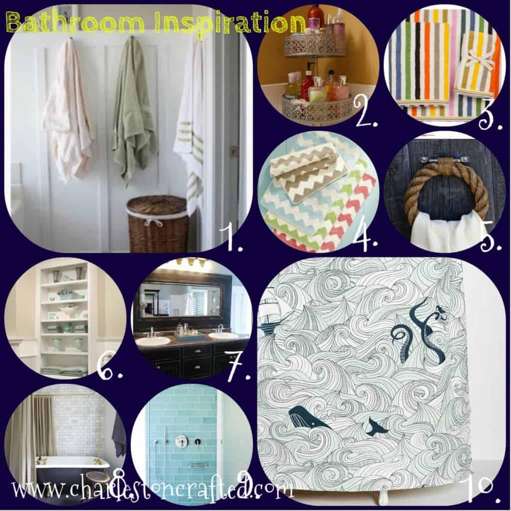 bathroom inspiration collage - charleston crafted