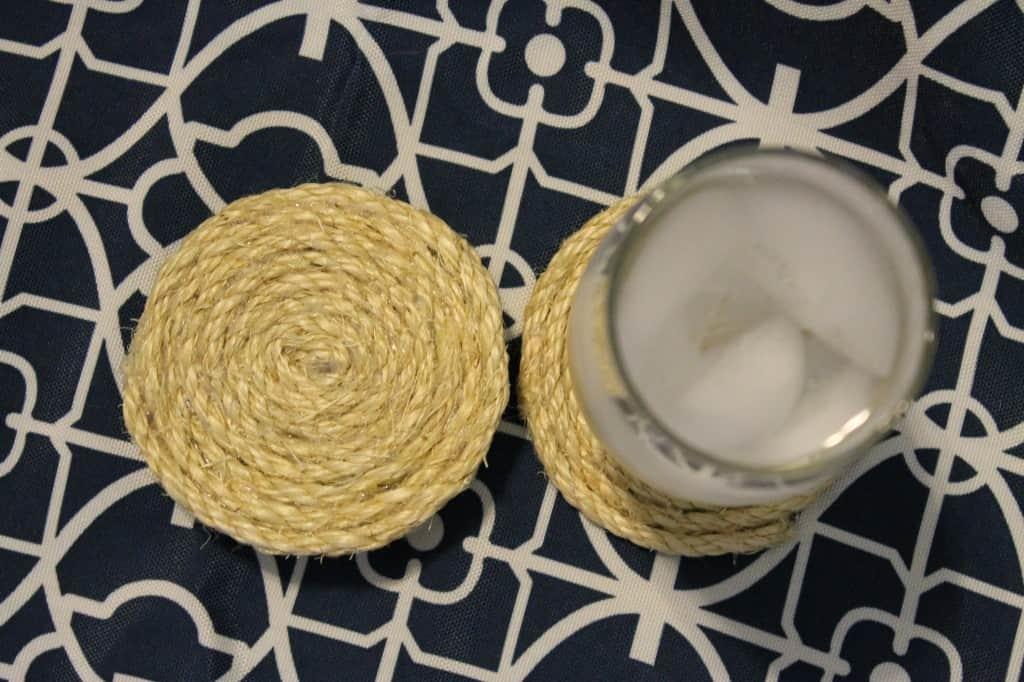 The Sullivan Spiral Sisal Coaster set - Charleston Crafted
