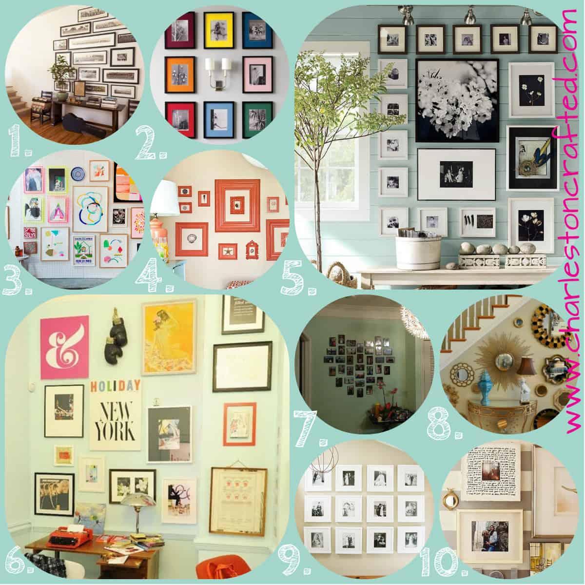 Top Ten Pins – Gallery Walls!
