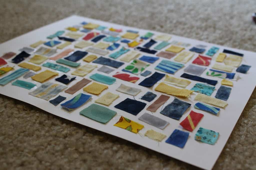 Fabric Collage - Charleston Crafted