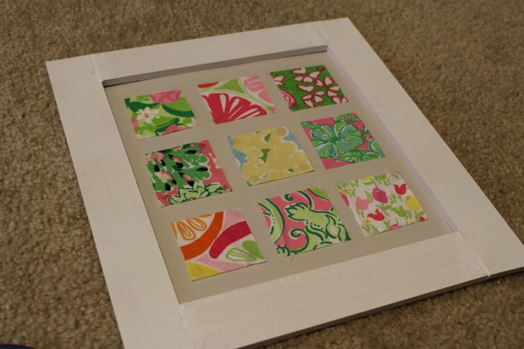 Frame fabric cluster - Charleston Crafted