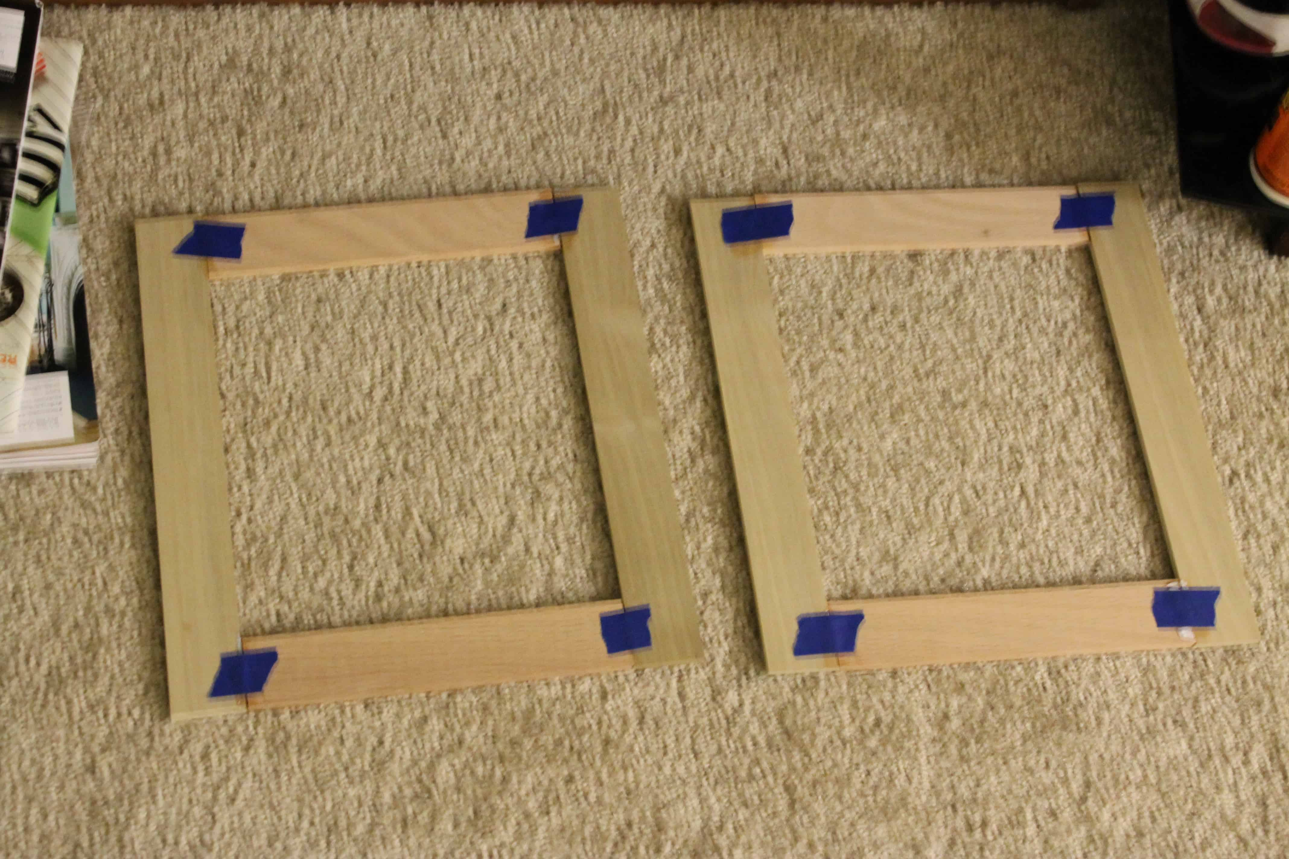 Making rustic frames charleston crafted for Cheap a frames