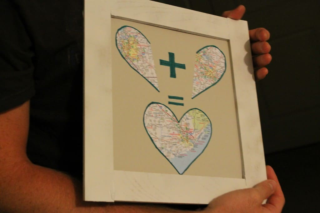 Sentimental Map Art - Charleston Crafted