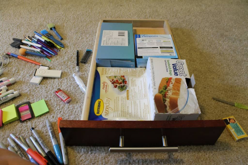 An Organized Workspace - Part I - Charleston Crafted