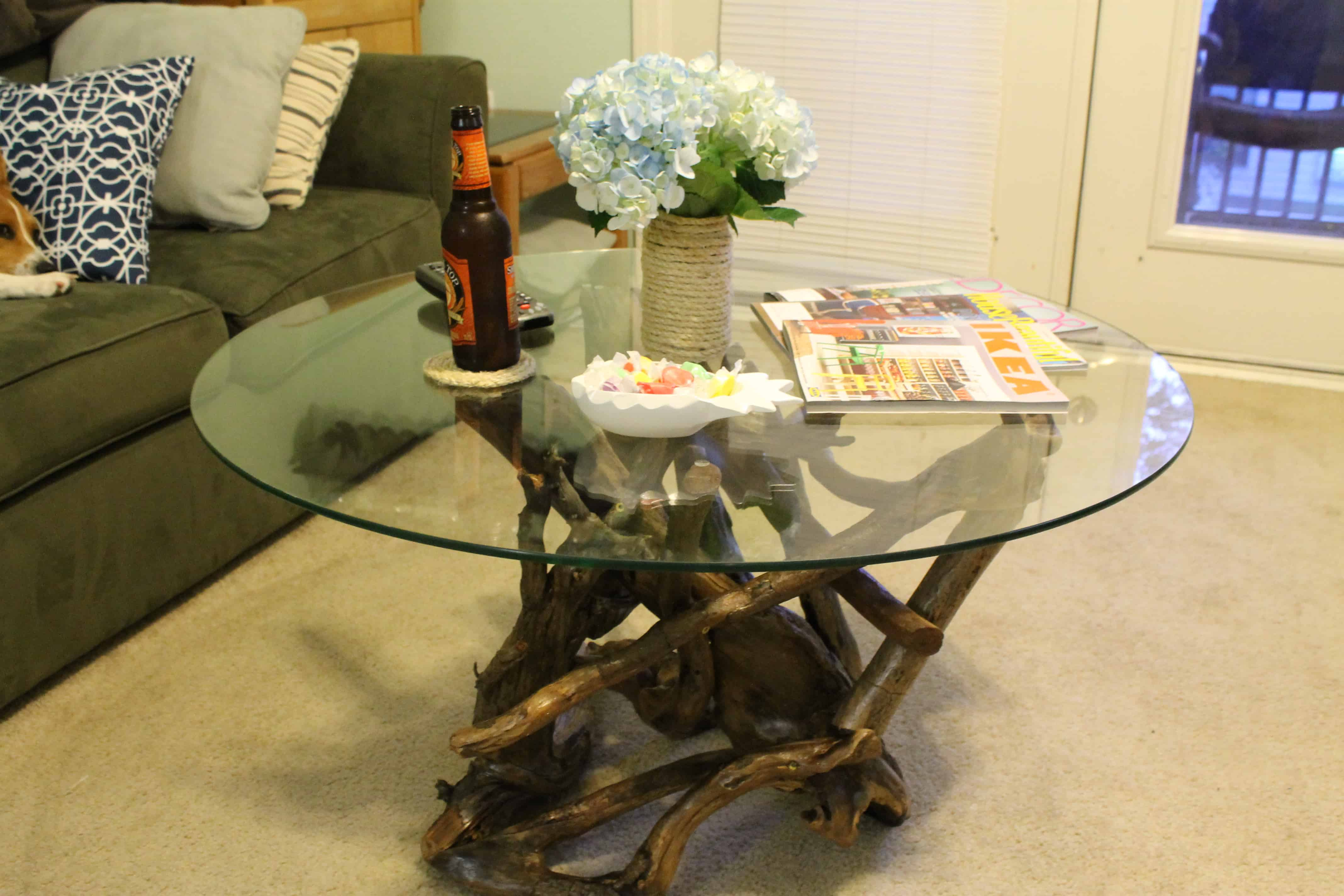 Driftwood coffee table archives charleston crafted for Coffee tables you can put photos in