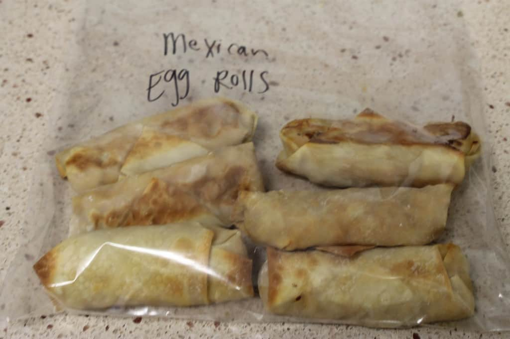 Football Egg Rolls - Charleston Crafted