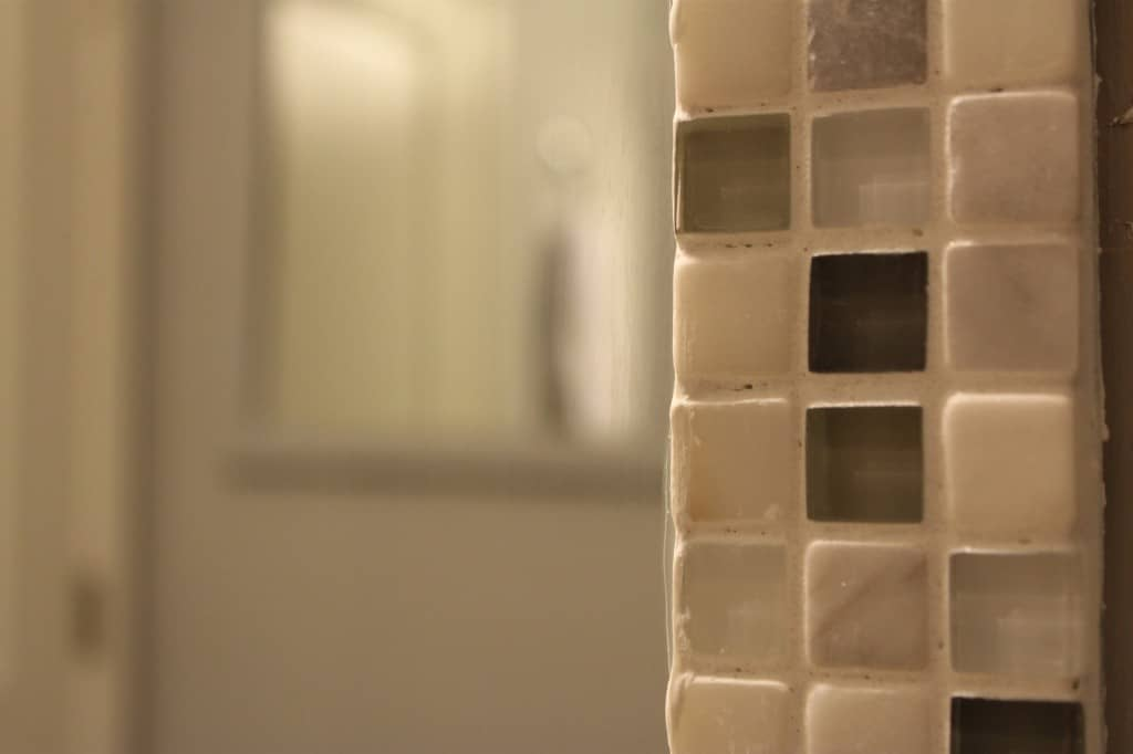 Tile Framed Mirror - Charleston Crafted