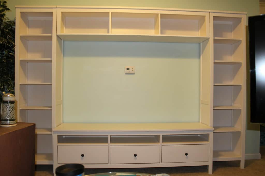 Upgraded Entertainment Center- Charleston Crafted