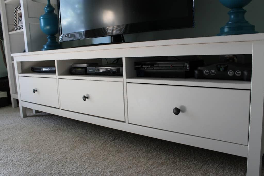 ikea hemnes entertainment center archives charleston crafted. Black Bedroom Furniture Sets. Home Design Ideas
