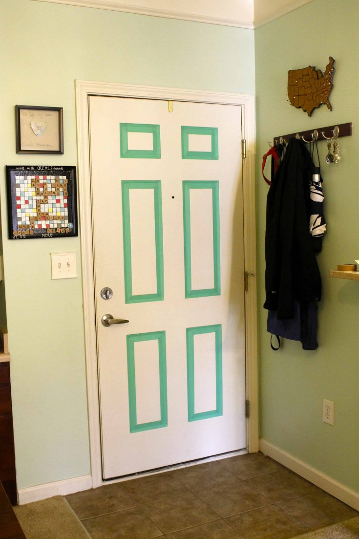 A Renter-Friendly Front Door Update