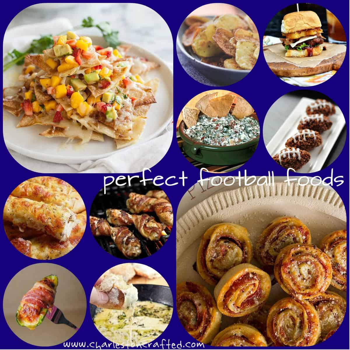 Top Ten Pins – Football Foods!