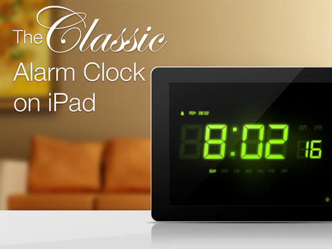 Update Your Clock for daylight savings time - Ipad Alarm Clock