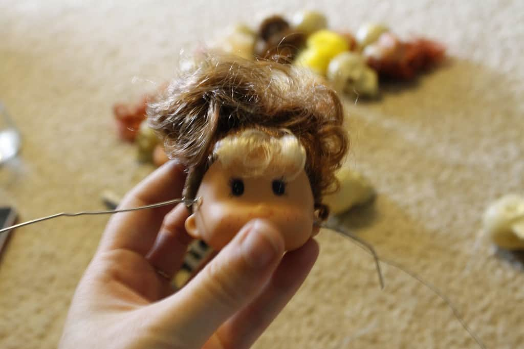 A Gruesome Dead Head Wreath - Charleston Crafted