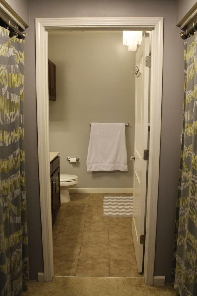 Master Bathroom 1 year later