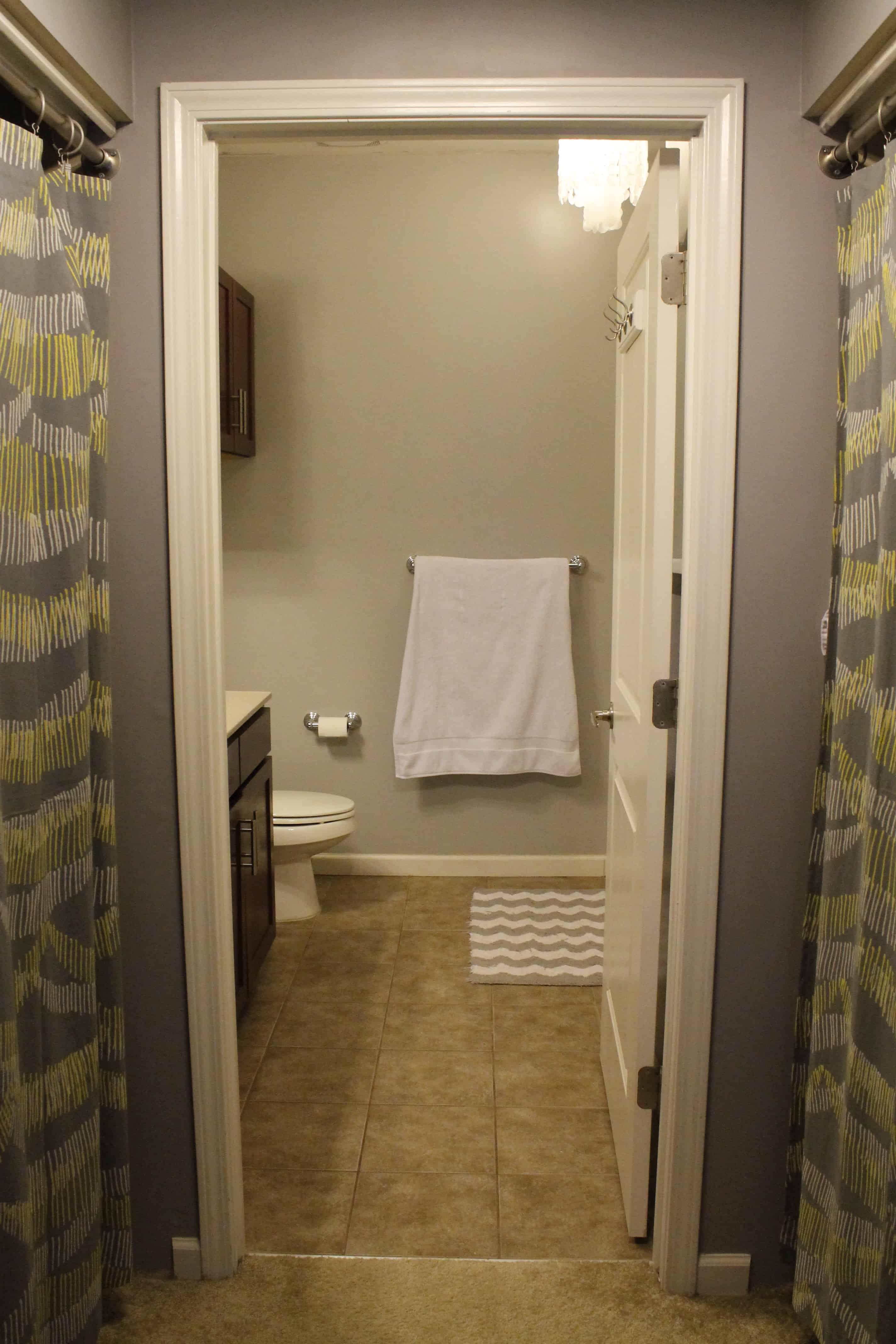 My Secret Passage- a Bathroom Update