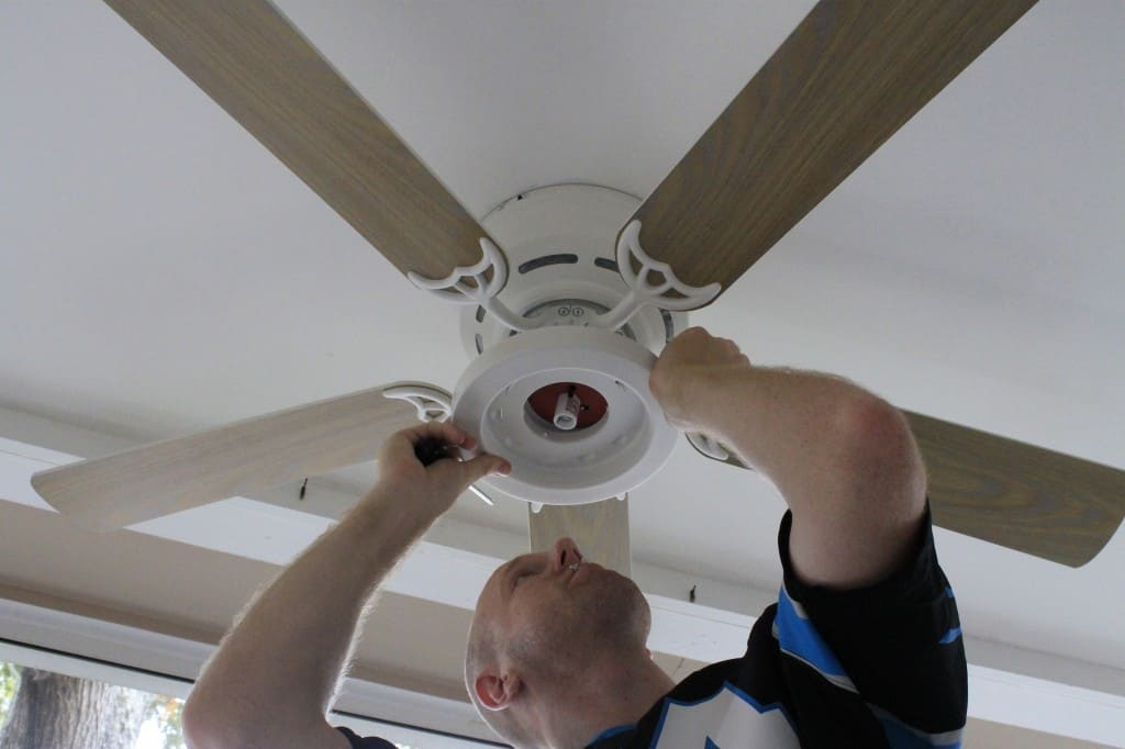 Installing a Porch Ceiling Fan - Charleston Crafted