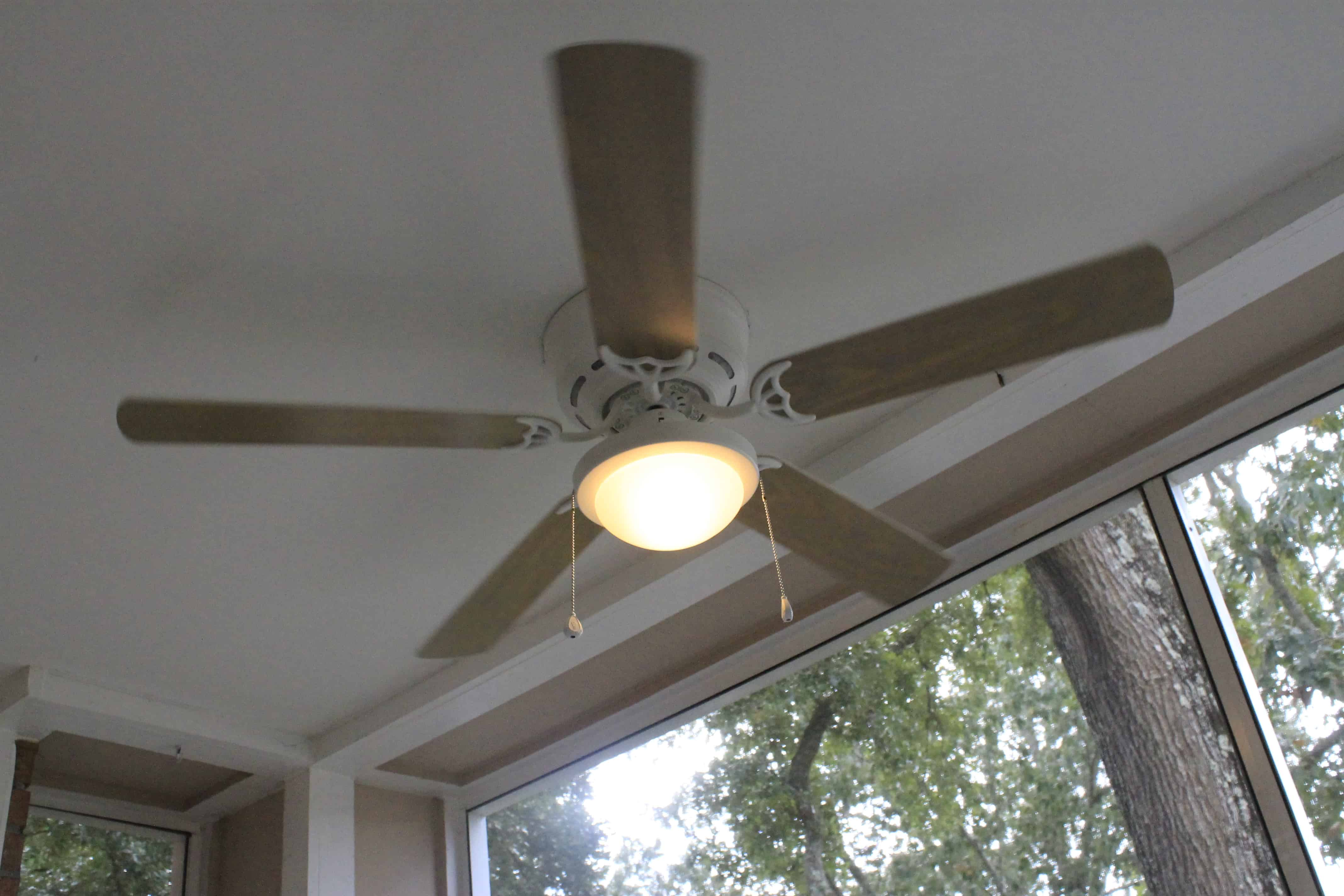 installing a porch ceiling fan charleston crafted - Porch Ceiling Fans