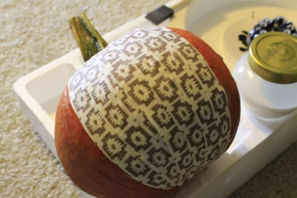 Modge Podge Pumpkin -- Charleston Crafted