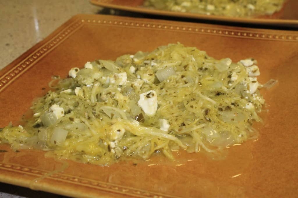 Pesto Spaghetti Squash - Charleston Crafted