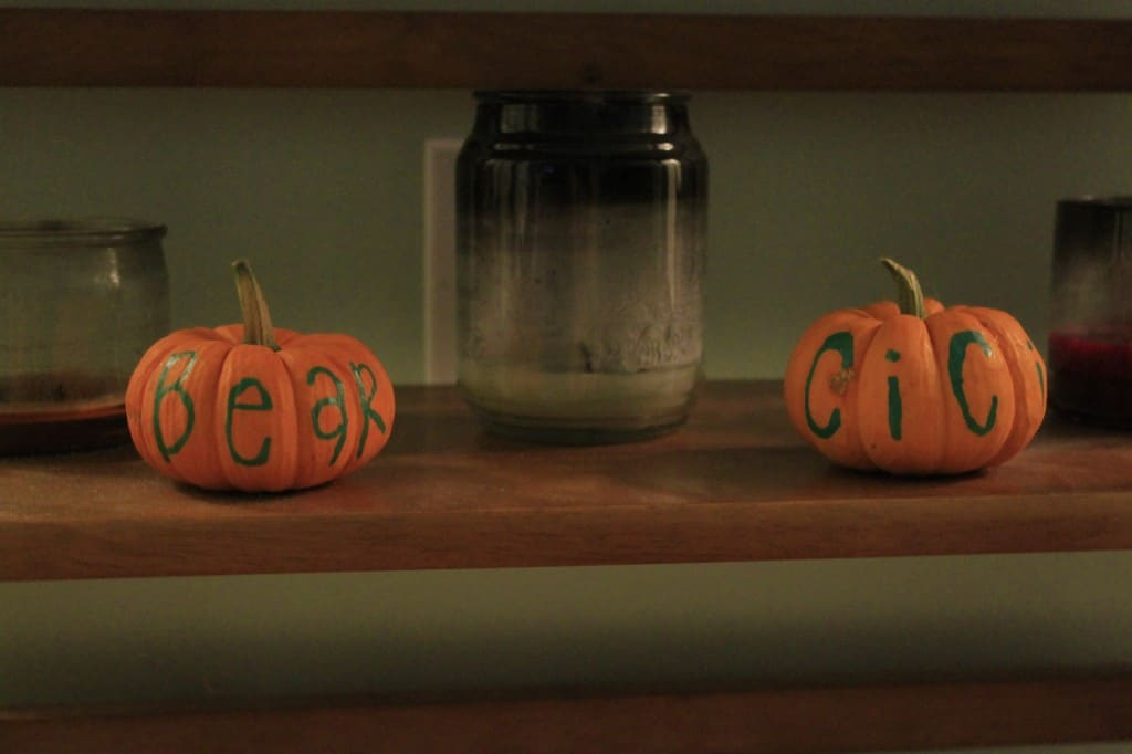 Draw on a pumpkin - charleston crafted