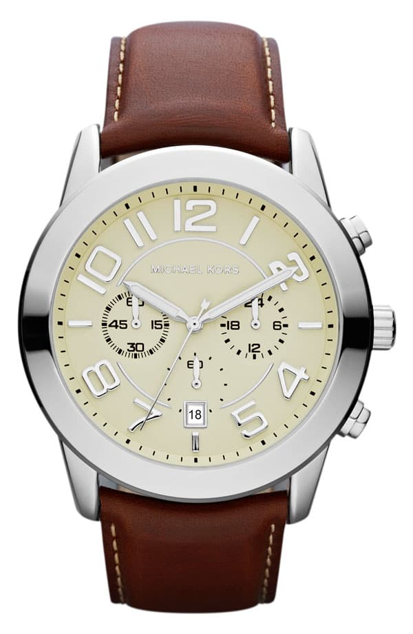 Update Your Clock for daylight savings time - Mens Leather Watch