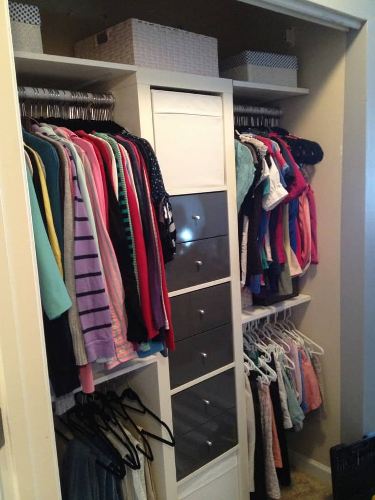 closet upgrade reveal - charleston crafted