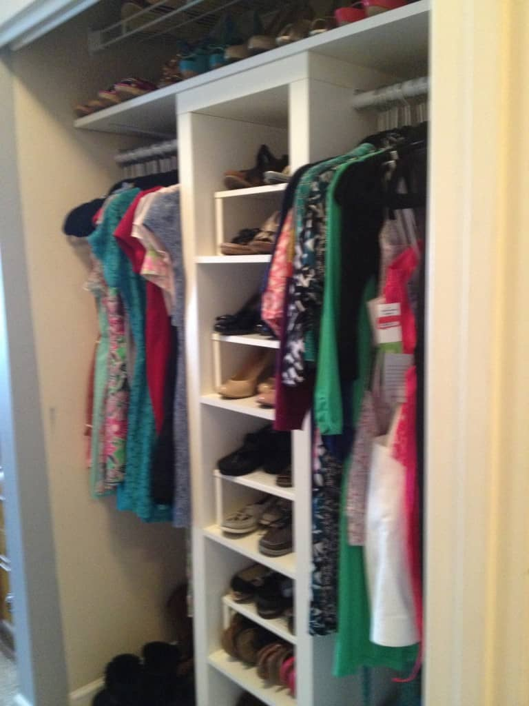 closet upgrade reveal - charleston crafted