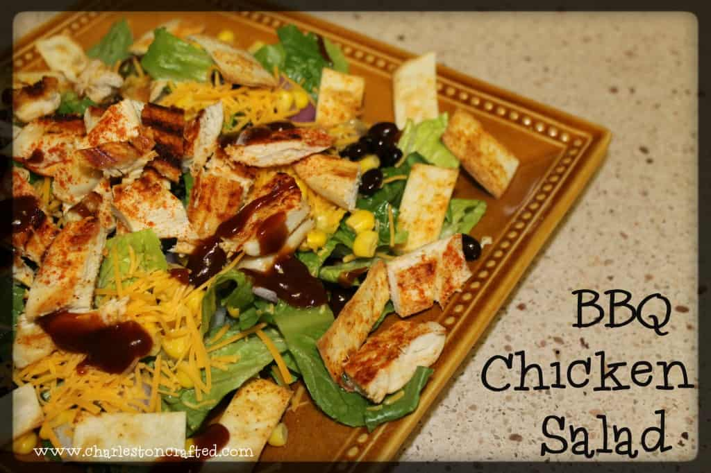 BBQ Chicken Salad - Charleston Crafted