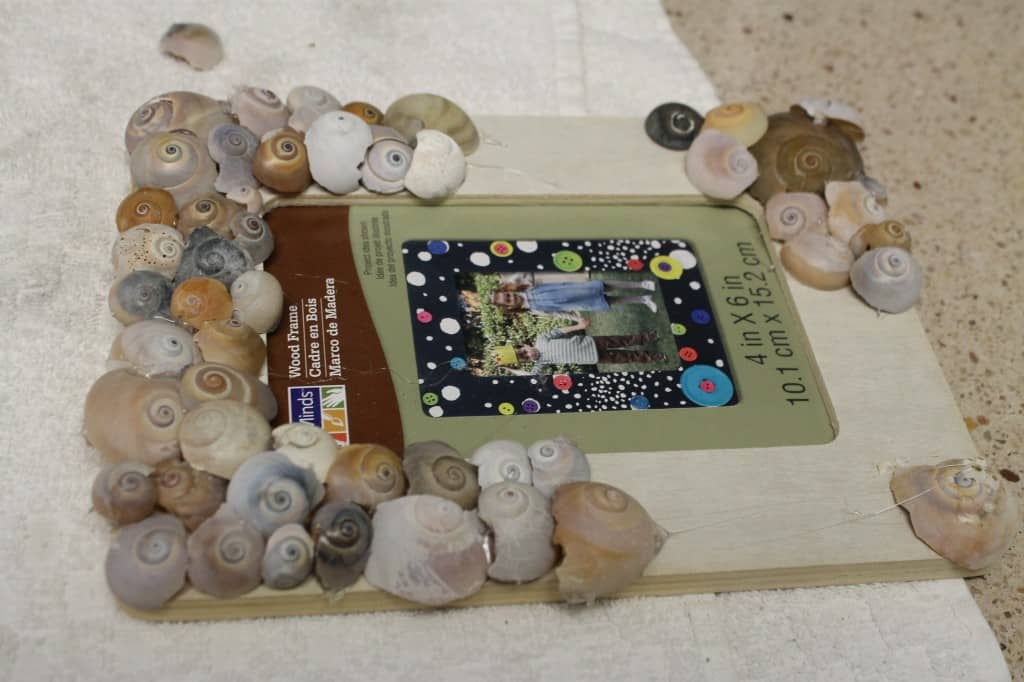 Sea Shell Frames & a Gallery Wall - Charleston Crafted