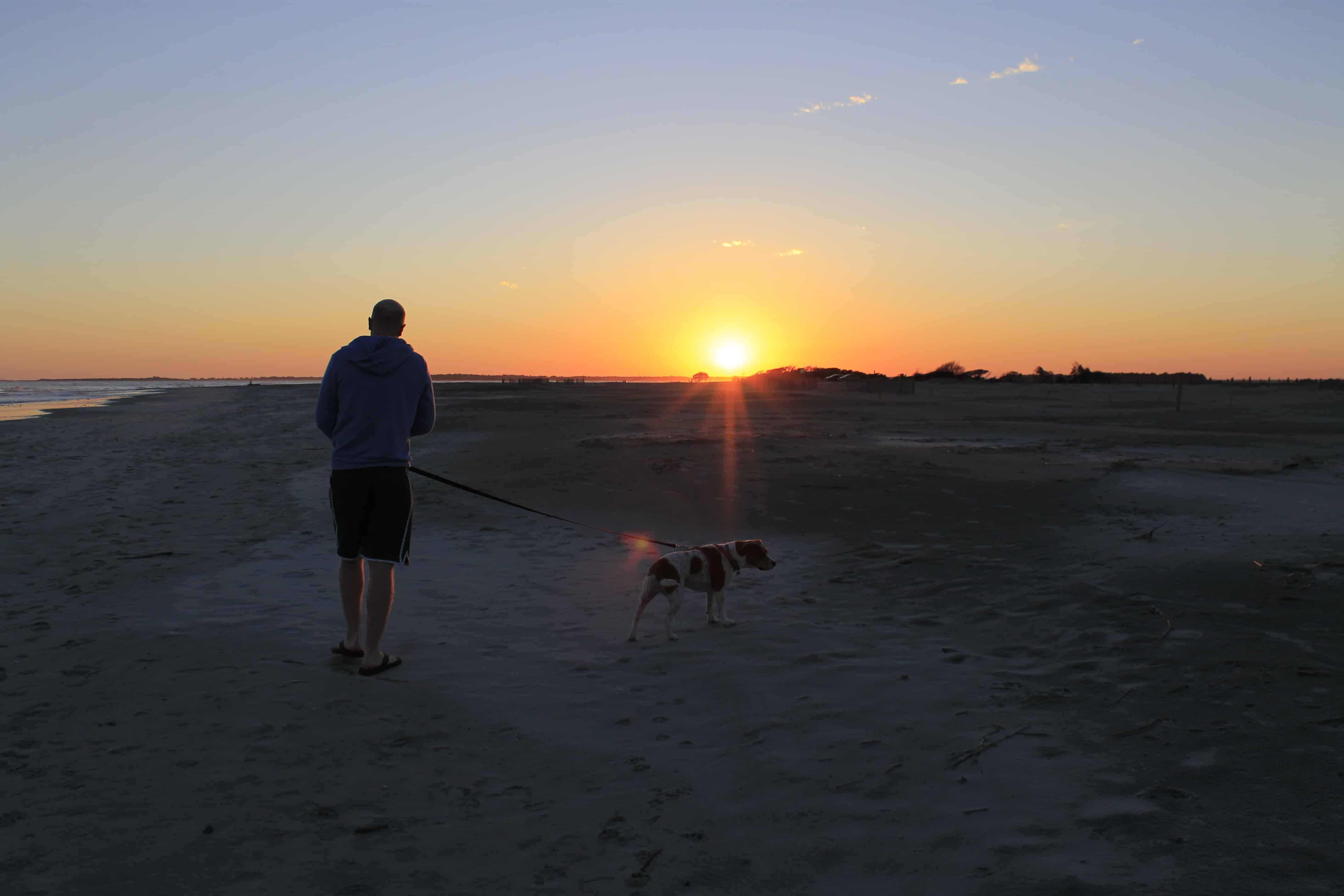 101 in 1001: Walk on the Beach at Sunset