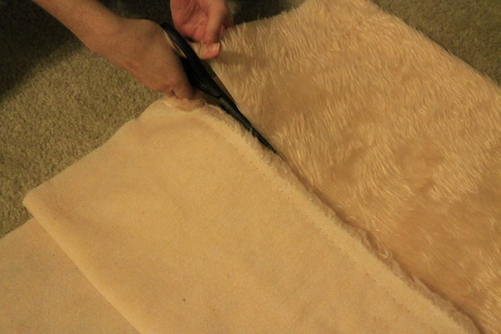 No Sew Faux Fur Snood - Charleston Crafted